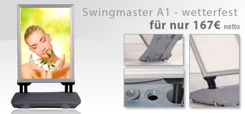 Aufsteller Swingmaster