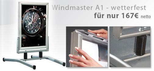 Aufsteller Windmaster